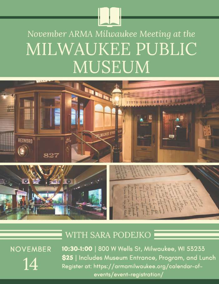 2019.11 Milwaukee Public Museum Flyer
